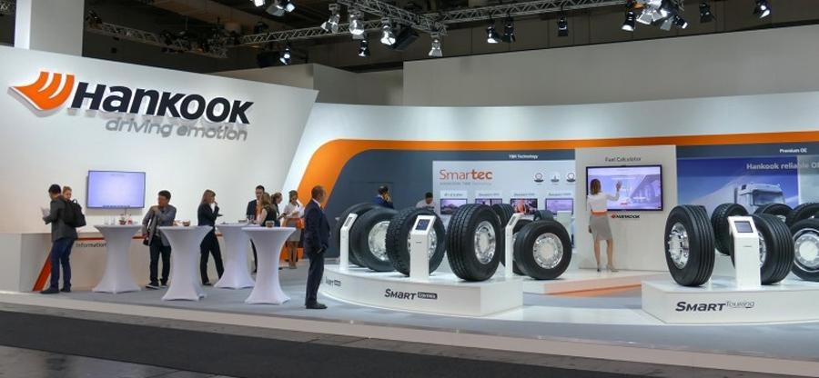 Hankook presente en el salón de vehículos comerciales IAA 2018