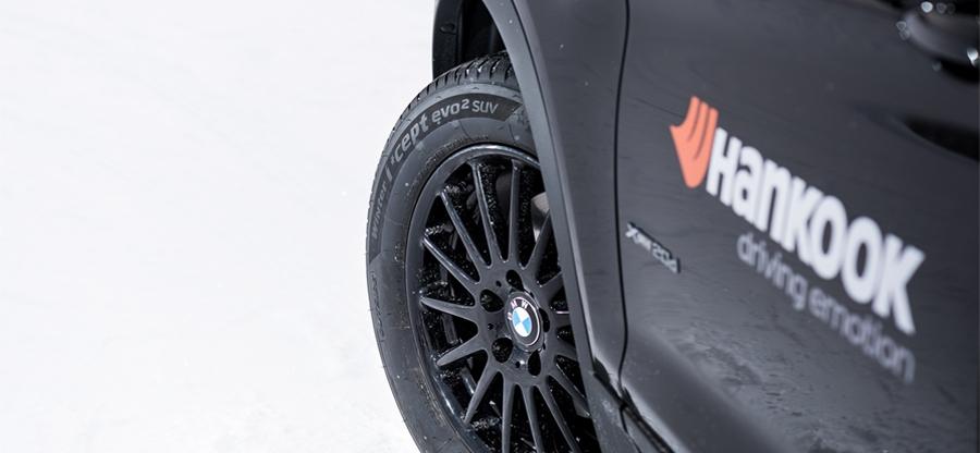 Hankook consigue un nuevo contrato de Equipo Original con el actual BMW X3